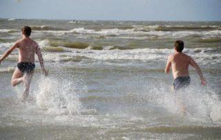 Zwemmen in de Noordzee