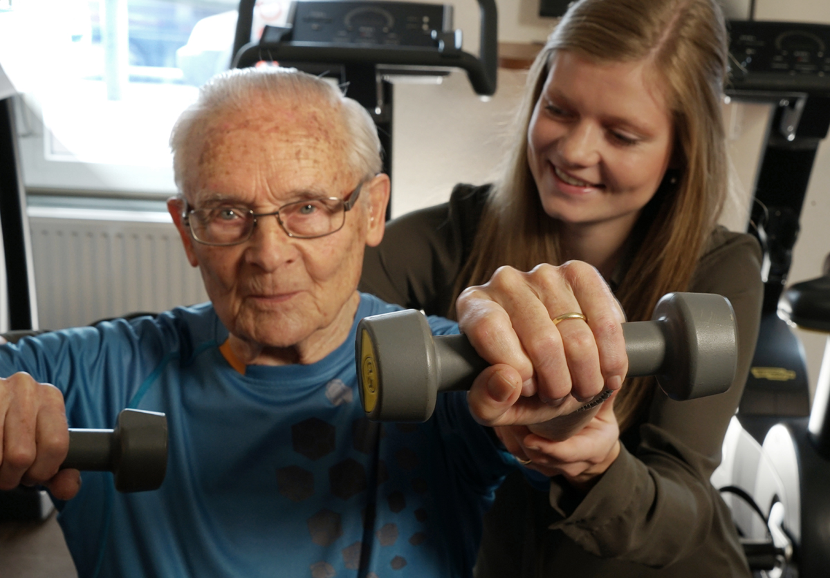 Geriatriefysiotherapie