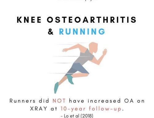 Hardlopen voor gezonde knieën