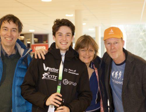 Victor Ramler op het NK afstanden 2019